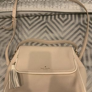 Kate Spade Taupe Cross Body Bag Purse